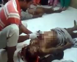 亡くなった人をその場でハンマーと刃物でスピード解剖するインドの職人さん