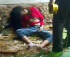 閲覧注意|外で遊んでいた女の子が雷に打たれた結果…