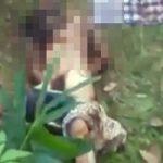 レイプされてから土に埋められた女の子の発掘現場・・・