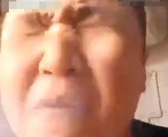 衝撃映像|爆竹食べてYOUTUBEデビューしようとした体を張った自撮りがこちら