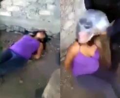 衝撃映像|女でも容赦無し!メキシコ軍女性兵士による窒息拷問記録
