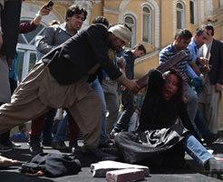 """イスラム教の経典""""コーラン""""を燃やした女性が焼き殺される・・・"""