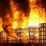 箱詰めに収容されてる囚人がいた刑務所で大火災が発生した結果
