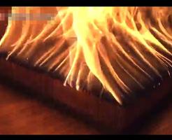 おもしろ動画|自宅で6000本のマッチを一気に火を付けるとどうなるか実験してみた→結果