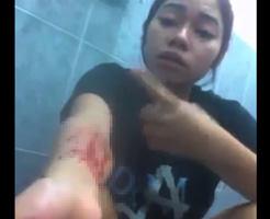 グロ動画|かまってちゃんのメンヘラ少女がリスカ自撮りネット公開でview数稼いだ映像・・・