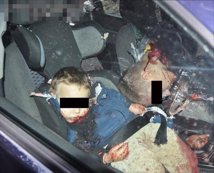 閲覧注意|3歳の息子の首をチェーンソーで切り落として自殺した父親・・・現場がひどい