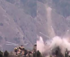 ヘリが着陸するであろう場所に潜入して爆弾しかけたら案の定粉々大破