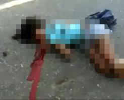 閲覧注意|子ども達の死体が路上に転がる凄惨な事故現場・・・