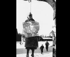若い女性にも容赦ナシ・・・ナチス党が行った公開処刑の写真を見つけたので晒しとく