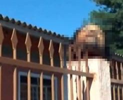 鮮明なグロ動画につき閲覧注意…教会に置かれた生首と横たわる胴体