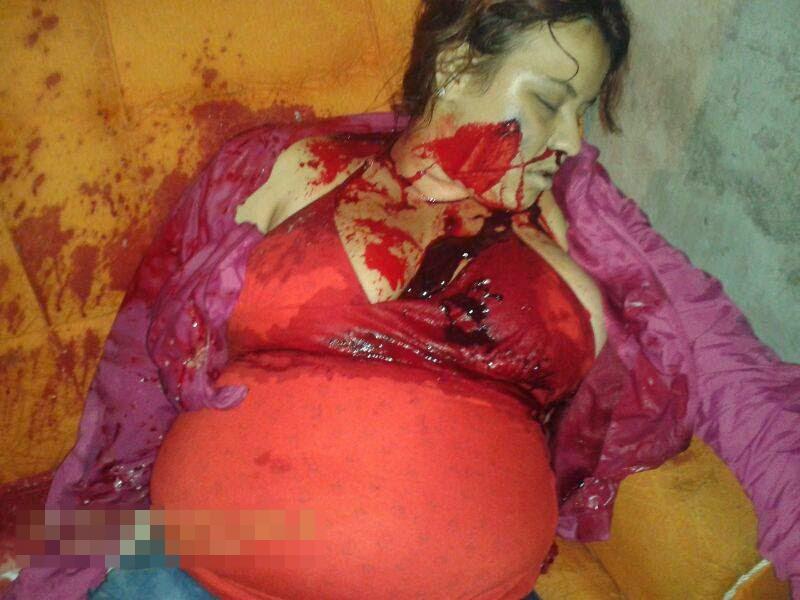 メキシコでは妊婦だって容赦なくヘッドショットを喰らわせ胎児もろとも殺してしまう|妊婦 死体 グロ画像