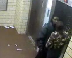 閲覧注意!女に振られた自暴自棄になった迷惑男の最後を監視カメラがとらえていた…