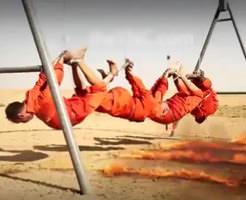 これに比べたら首切りとか天国じゃん…ISISの火あぶり処刑が史上最悪に残酷な件※閲覧注意グロ動画