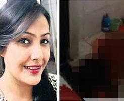 レイプされたことを苦に自殺!インドの有名美人モデルが死ぬ瞬間!!
