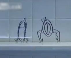 それゆけ!チ●ポ君!性器が主役の海外産アニメのクオリティがディ●ニー級www