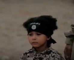 5歳くらいの子どもに死刑執行させるマジキチ集団ISIS