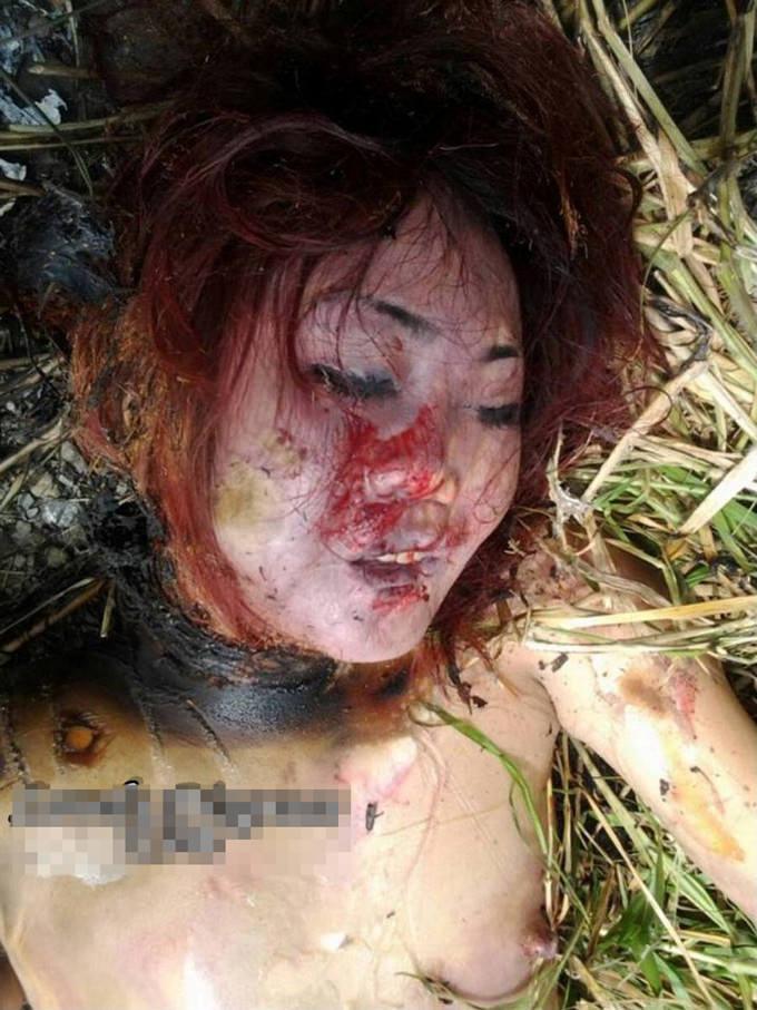 いやなら見るなのグロ画像!レイプされた後に焼かれた女の子が悲惨すぎる