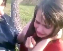 いじめ|めちゃくちゃ可愛いロシア美少女がビッチに泣かされるガチ映像