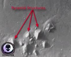 衝撃映像|CIA文書の機密解除された内容に、火星ピラミッドについて記載があったんだが