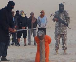 グロ動画|いつもとナニカが違うISISの斬首…切られた首が動いてた