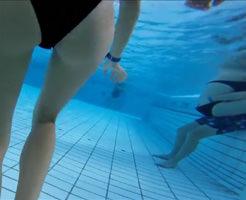 盗撮|良い子は真似しちゃだめだぞ?プールの水中でカメラ撮影したらエロス世界が広がってた件w