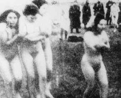 グロ画像|ナチスのホロコースト、女はとりあえず脱がしてから殺す流れだった模様