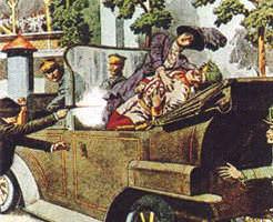 画像|第一次世界大戦はこの後すぐ、オーストリア=ハンガリー帝国の後継者暗殺写真