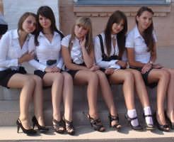 朗報|ちょっとロシア行ってきますw女子高生のレベル高すぎる件w