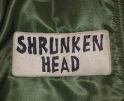 シュランケンヘッド 儀式に使われた人間の頭部を使った「干し首」はこんな感じ