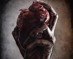 閲覧注意|いぇーい!ピースピース!殺した男の生首と心臓と記念撮影