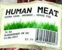 閲覧注意|食人用??女性から肉と骨剥ぎ取ってペラペラにして食材と一緒に並べられてるんだが…