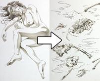 閲覧注意|美女も死ねば腐敗する…死体が土に還るまで描いた仏教絵画の「九相図 (くそうず)」
