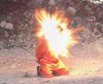 【グロ動画】ネックレス爆弾で処刑、起爆する瞬間をスローで見ると…