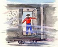 【事故】列車から飛び降りるぞ!素人が映画さながら走行中に飛び降りた結果、転げ落ちて死亡