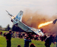 【画像&動画】観客の目の前に戦闘機が墜落、77人が死亡した最悪のリヴィウ航空ショー=ウクライナ