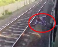 【衝撃】「風が気持ちいいぜ~」列車から身を乗り出す男性が迎えた結末は...