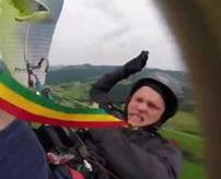 【衝撃】死を覚悟したパラグライダー落下事故の主観映像が怖すぎる...
