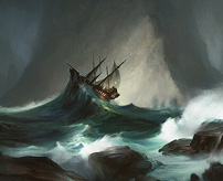 【衝撃】嵐に襲われた船が転覆寸前!その脅威に翻弄される人々が映像に!