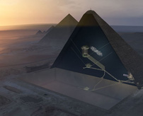 【衝撃】技術の進化!エジプトのピラミッド内を3Dスキャンで新しい空間発見!