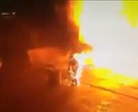 約1500度超 ドロドロに溶けた鉄を浴びてしまった作業員…