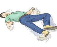 この人もうすぐ死ぬんだな…事故に遭った人が死ぬ直前にするデスダンスが怖E…