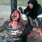 泥食えよ。女の子を縛りつけてスマホで撮影、限度がぶっとんだいじめ映像