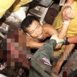 【グロ画像】製粉機でトウモロコシを挽いていたら自らも巻き込まれてすり潰されてしまった男性