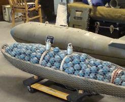 【グロ動画】世界的に禁止されたクラスター爆弾の被害に合った男の子が…