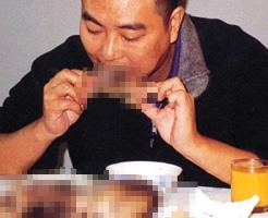【閲覧注意】死んだ人間の子供を焼いて食べると滋養強壮、流出した問題の人肉食写真=中国