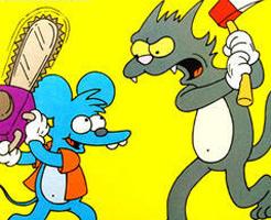 一度でいいから見てみたい、実写版ネコがネズミを食すシーン!