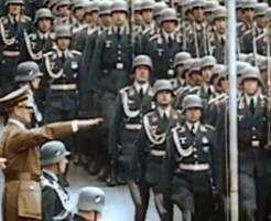 【衝撃】第二次世界大戦フィルムをカラー映像化!鮮明なヒトラー、当時の兵器など