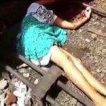【グロ動画】10代前半の少女の首なし死体映像…自殺だそうです ※閲覧注意
