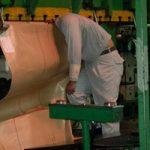 ご安全に…機械に手や体が巻き込まれた工場で起こった事故写真