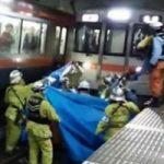 電車の人身事故!その後処理の様子がコチラ